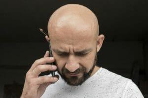 glatze bei haarausfall